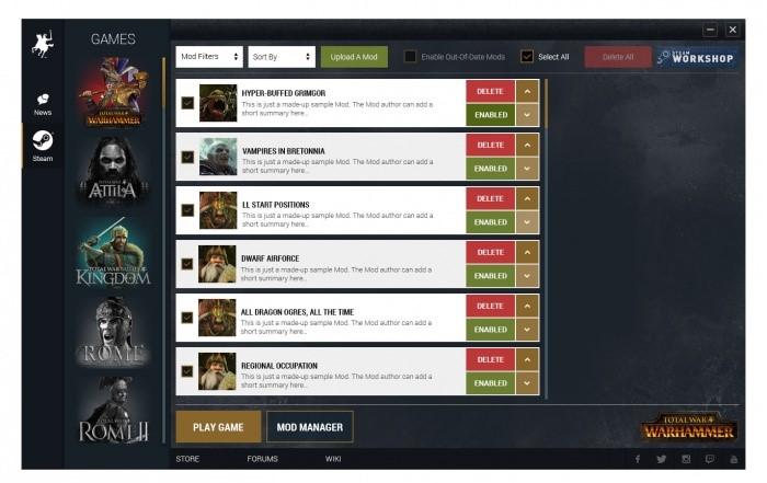 Official Mod Support & Steam Workshop for Total War: WARHAMMER