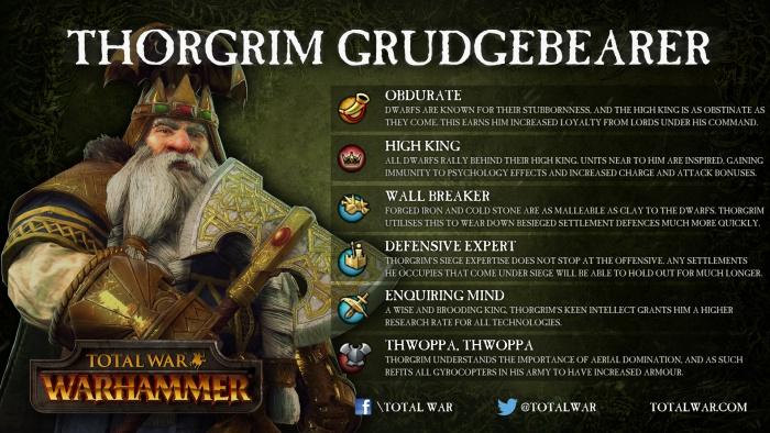 Total War Warhammer Skill Build For Ungrim