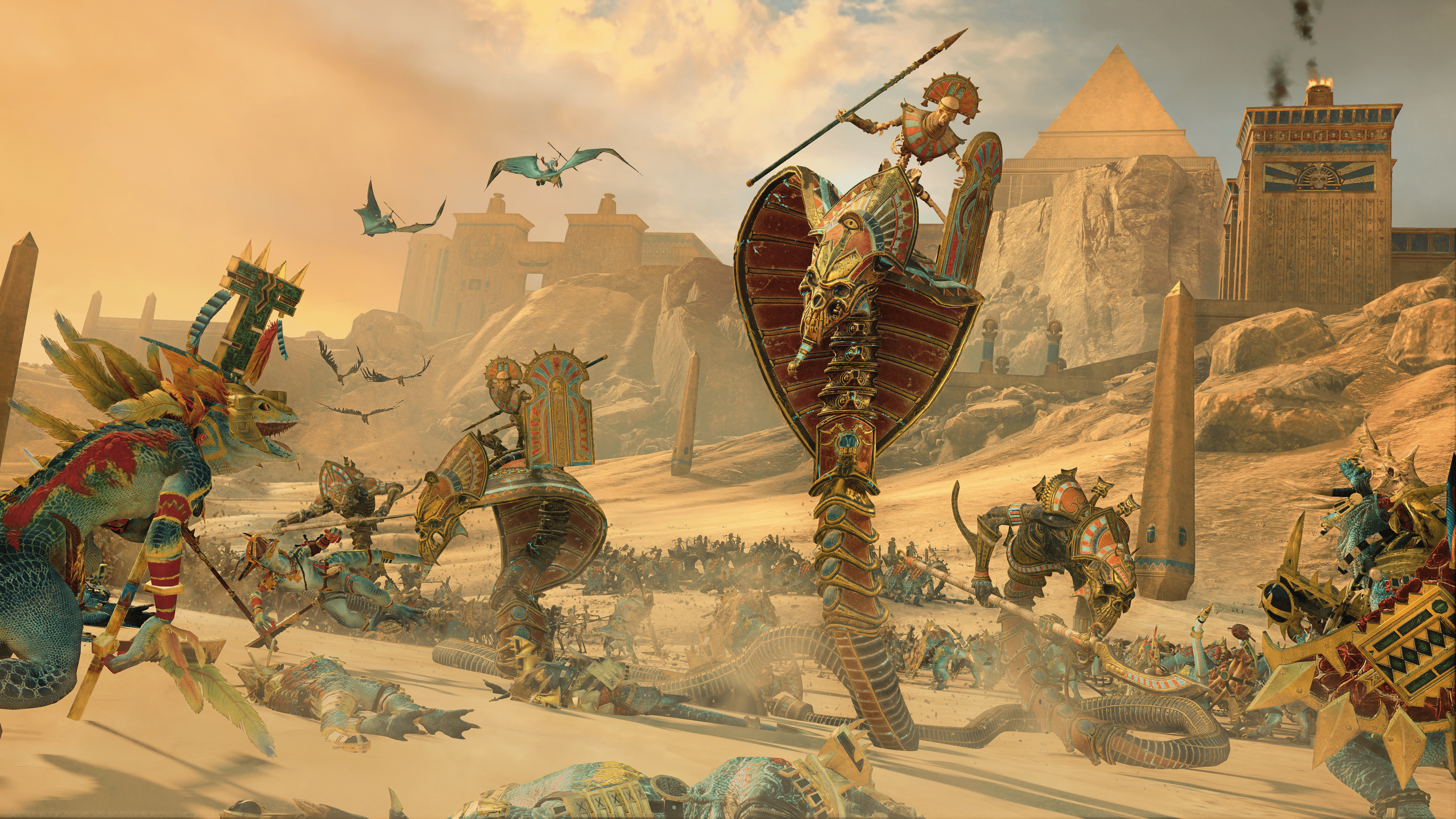 Rise Of The Tomb Kings DLC Announced For Total War: Warhammer II